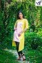 Chanderi Designer Kurti (AST/SS19/FR27)