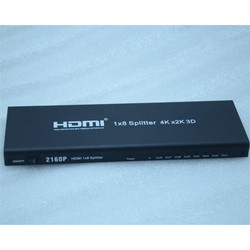 1 x 8 HDMI Splitter Support 4k x 2k 3D