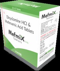 Mefenamic 250 Mg Dicyclomin 10mg
