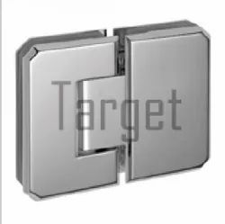 Bevelled Shower Hinge- 180 Glass to Glass Shower Hinge