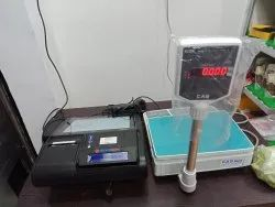 Weighing Scale Interfaced Billing Machine