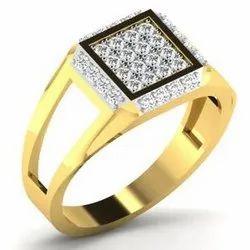 Real Diamond Mens Ring