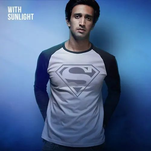 Superman Logo Full Sleeve T-shirt