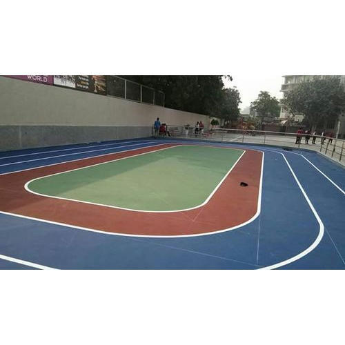 Quality Sports Roller Skating Court Flooring Service Rs Square - Skate court flooring