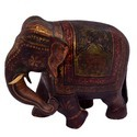 Decorative Wooden Elephant