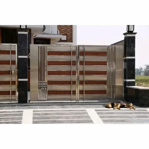 Stainless Steel Front Main Gate For
