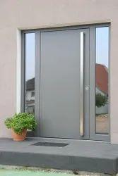 Ext Grade Pu Coat Wooden Exterior Door, For Home, Size/Dimension: 2.2m X 1m X 35mm