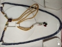 Blue Sapphire Necklace - 1 line