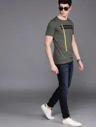 Low Raise Multicolor Skinny Fit Denim Pants 0, Waist Size: 28-34