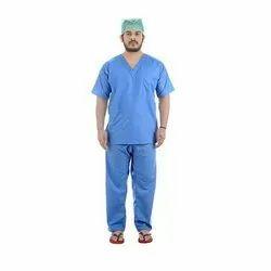 Plain Pure Cotton Doctor OT Dress