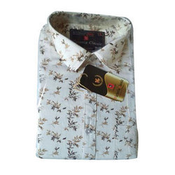 Cotton Casual Mens Fancy Shirt