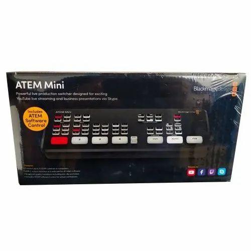 Atem Mini Blackmagic Design Audio Switcher À¤'ड À¤¯ À¤¸ À¤µ À¤š Q Live Technologies Kochi Id 22018554673