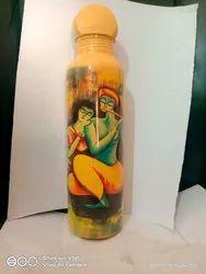 Copper Bottle, Capacity: 1000ml