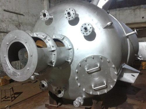 Stainless Steel Process Rector, Capacity: 1-2 kl