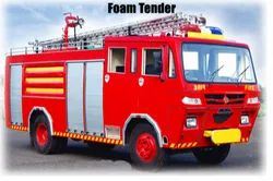 Red Foam Tender On Rent For Fire Fighting