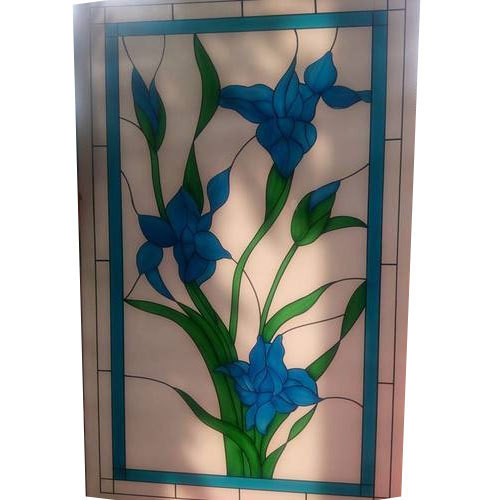 Multicolored And Multicolored Modern Glass Etching Rs 120 Square
