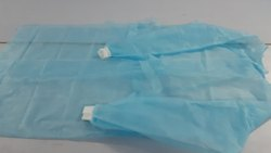 Non Woven Medical Blue Gown