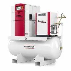 0.5 HP - 200 HP AC Three Phase Maxwell Screw Air Compressor