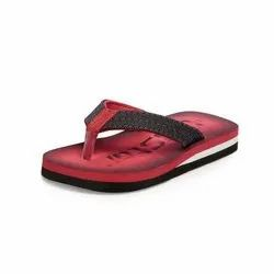 Boys Red Casual Slippers
