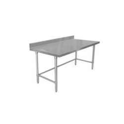 Ss Silver Spreader Table, Size: 36x 24 X 34 Inch