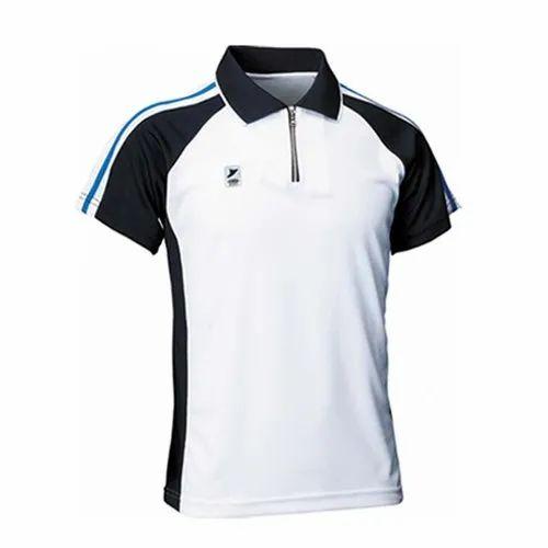 Half Sleeves Mens Polyester Sports T-Shirt, Size: M-XXL