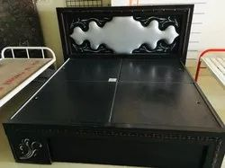 Brown Modern Double Bed