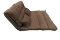 Floor Sofa Cum Bed - 120 Cm Wide - Brown