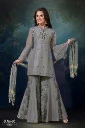 Silk Designer Ladies Suits
