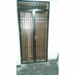 JSW Hinged Iron Gate, For Residential