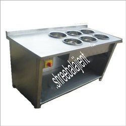 6 Pot Bain Marie Counter