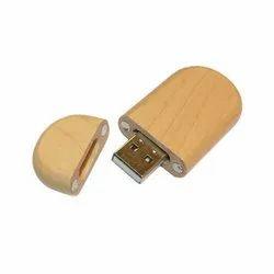 Wooden Magnet Pen Drive