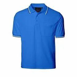 Hosiery Mens Blue T Shirt
