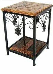 Divine Enterprises 18 Wrought Iron Coffee Table
