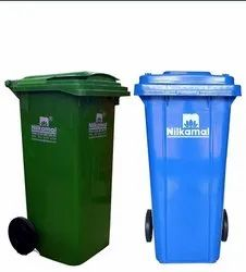 Nilkamal Wheel Waste Dustbin 120 Ltr