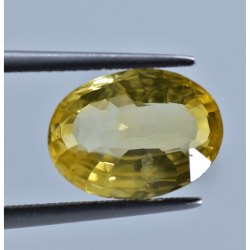 5 To 8 Carat /Ratti Natural Yellow Sapphire 100% Unheated Untreated with Gii Lab Certified