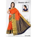 Ladies Braso Silk 1 Saree