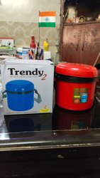 Insulated 2 Container Lunch Box