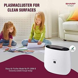 HEPA Sharp Air Purifier, Room Size: Below 250 Sqft