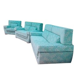 Wooden(frame) Trendy Sofa Set