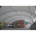 Commercial Roofing Tensile Structure