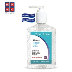 OEM or Private Label Antibacterial Hand Gel