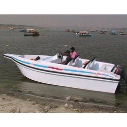 Six Seater FRP Motor Boats