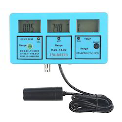 PH TEMP EC CF TDS Monitor Water Meter Tester