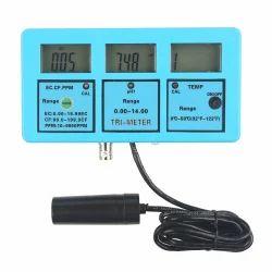PH TEMP EC CF TDS Monitor Water Meter Tester