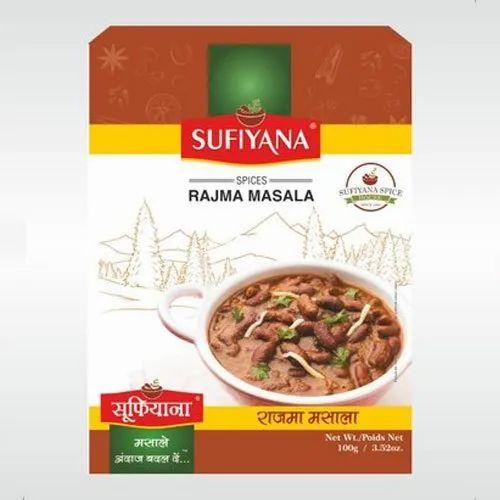 Sufiyana Rajma Masala Powder 100g at Rs 58/pouch | Gurgaon ...