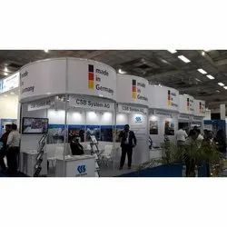 Wooden Design and fabrication Modular Exhibition Booth Service