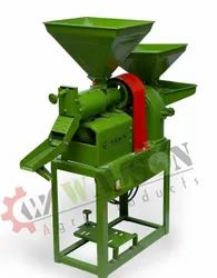 3 HP Combined Rice Mill