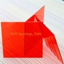 Red 1.5mm Polycarbonate Transparent Colour Sheet