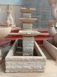 Mint Sandstone Garden Fountain