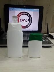 200 Ml Alfa HDPE Bottle With Oval Flip Top
